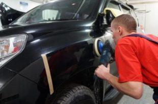Полировка кузова автомобиля от царапин